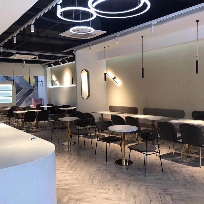 Uptop Furnishings-Leather Sofa Company-China Hangzhou Restaurant-2