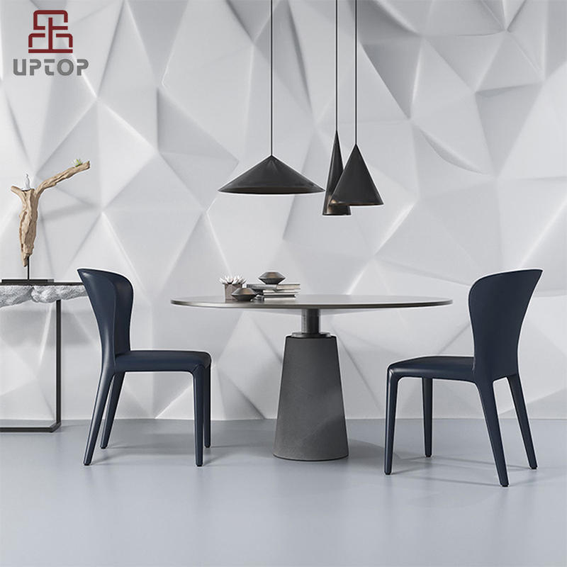 Wholesale Modern Designer Lounge Leather Dining Chair (SP-HC059)