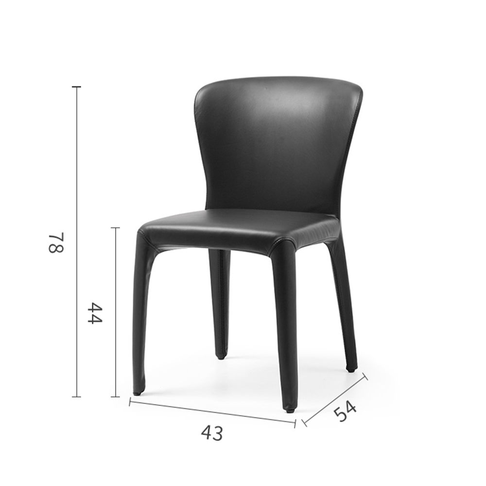 Uptop Furnishings-Best Club Chair Wholesale Modern Designer Lounge Leather Dining Chair sp-hc059-1