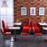 High end American style sofa restaurant tables and chairs (SP-CT833)
