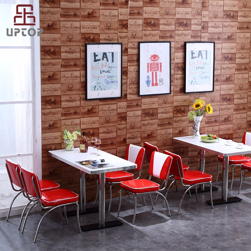 Uptop Furnishings-High End American Style Sofa Restaurant Tables And Chairs sp-ct833-uptop-4