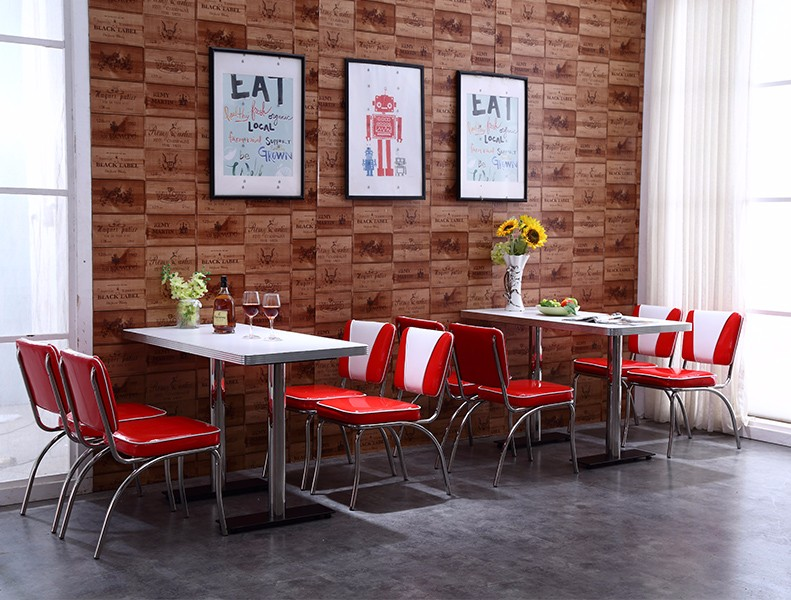 Uptop Furnishings-High End American Style Sofa Restaurant Tables And Chairs sp-ct833-uptop-5
