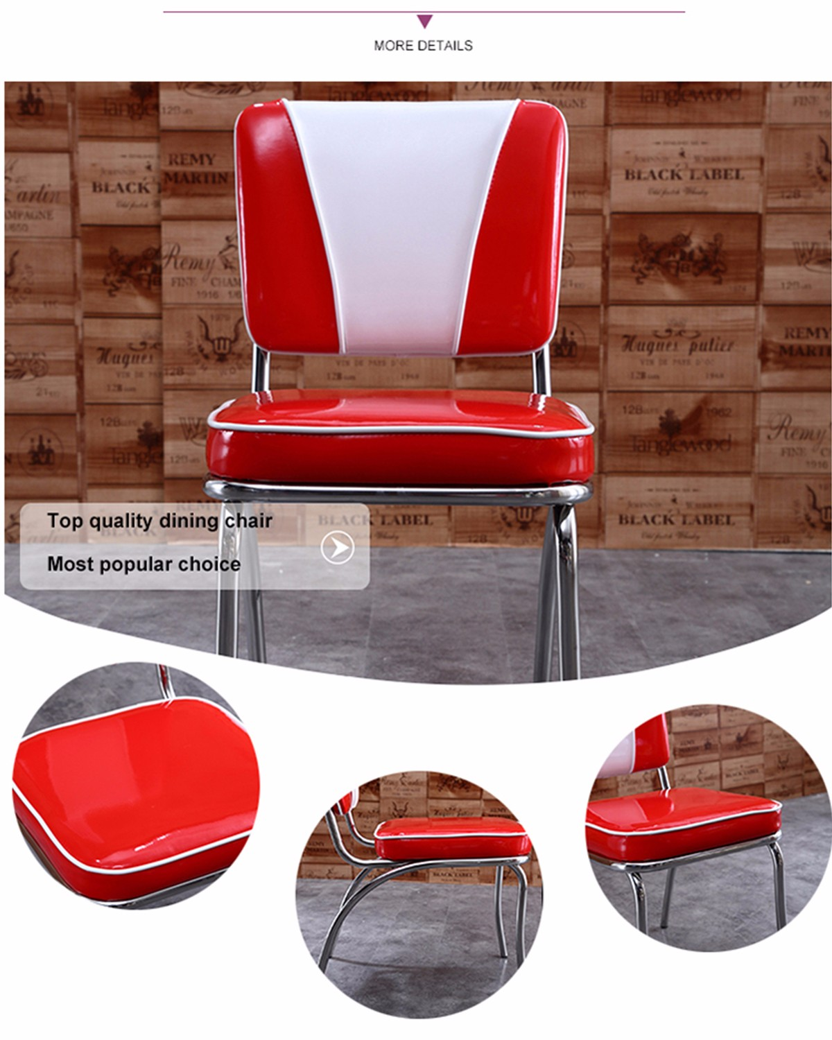 inexpensive Retro Furniture chairs from manufacturer for hotel-5