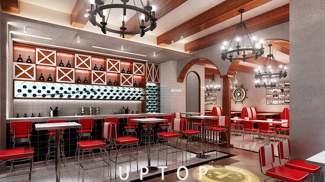 Uptop Furnishings-Leather Sofa Manufacturers Customization, Outdoor Restaurant Table | Uptop-2