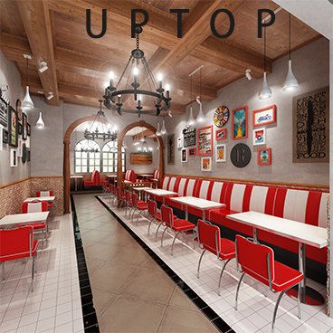 Uptop Furnishings-Leather Sofa Manufacturers Customization, Outdoor Restaurant Table | Uptop-5