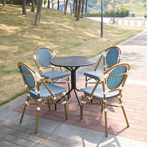 Uptop Furnishings scroll cafe chair factory price for restaurant-7