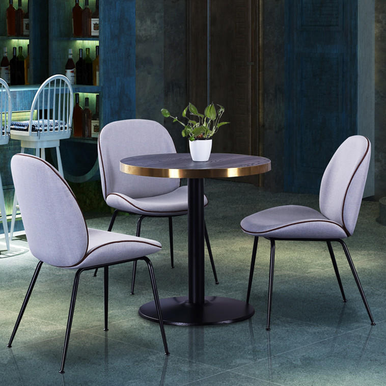 (SP-CT863) Hot sale fashionable cafe/restaurant table chairs dining table set 2 chairs