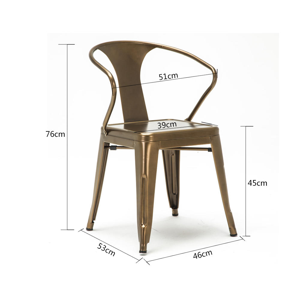 Uptop Furnishings high end aluminum outdoor chair for public