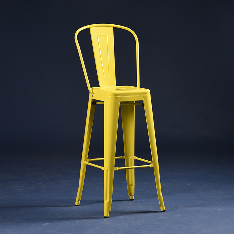 good-package metal restaurant chairs black certifications for cafe-Uptop Furnishings-img-1