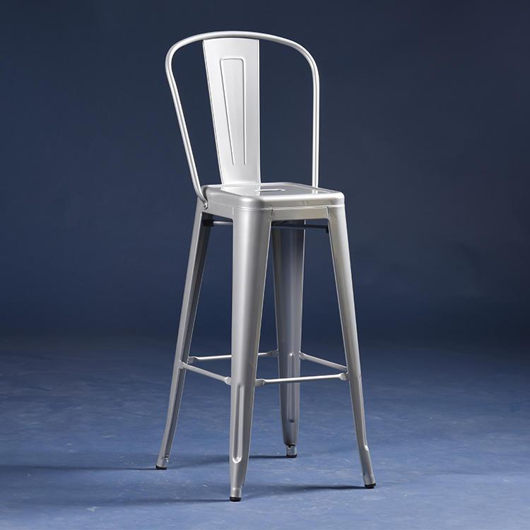 (SP-MC041) Popular bistro metal bar chair furniture