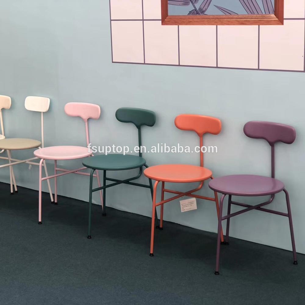 inexpensive metal chair indooroutdoor China supplier for restaurant