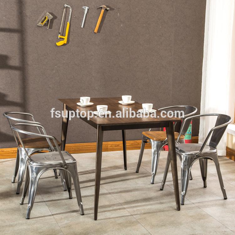 Uptop Furnishings stackable restaurant metal chair bulk production for restaurant-4