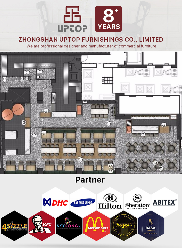 Uptop Furnishings stackable restaurant metal chair bulk production for restaurant-7