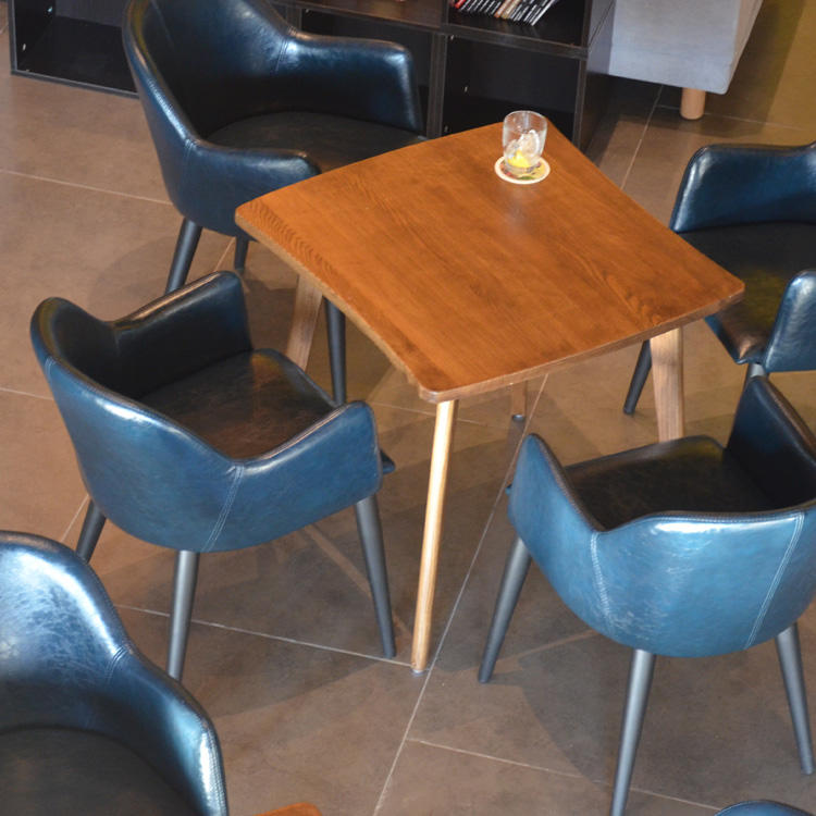 (SP-CS347) Hot sale restaurant table chairs sets for cafe furniture