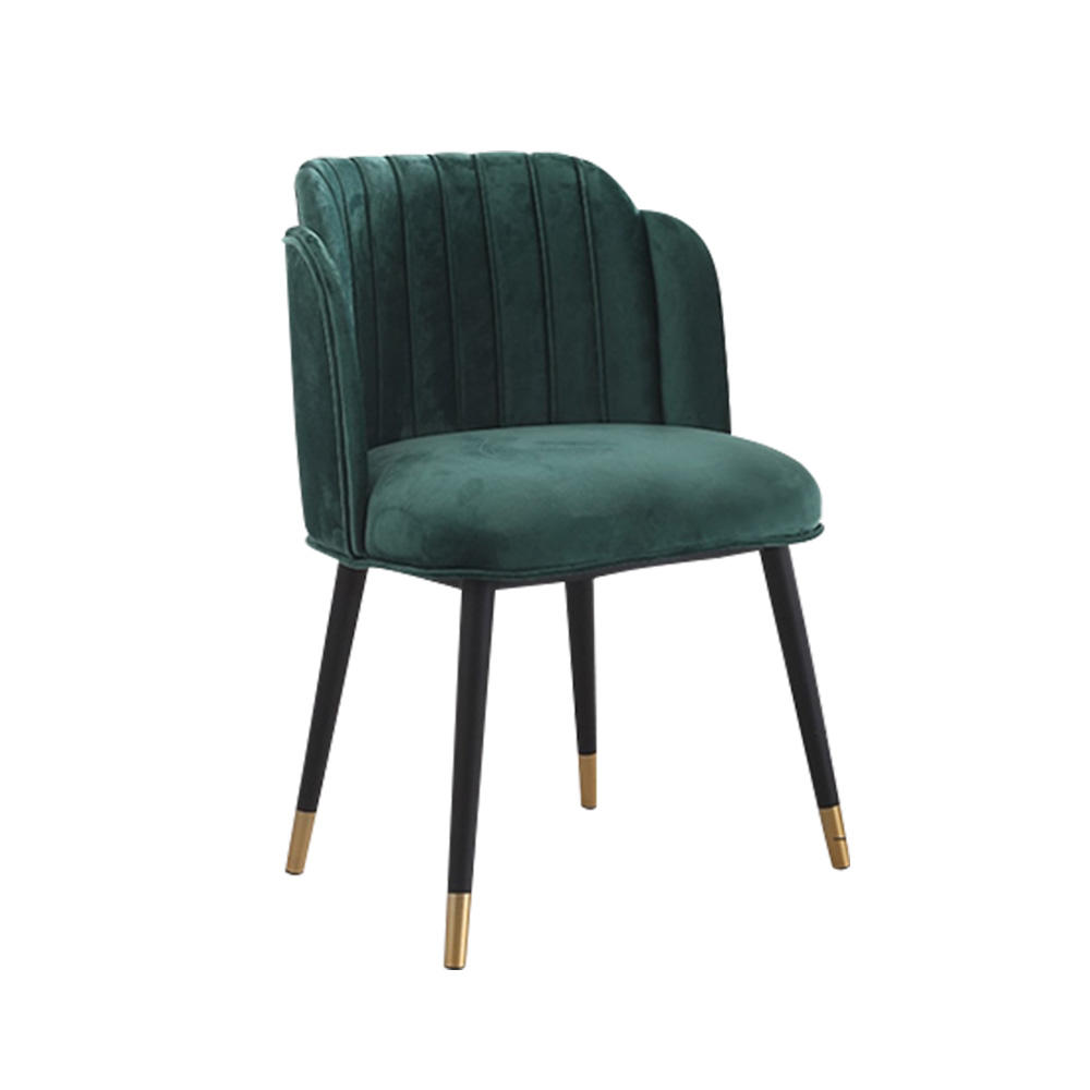 (SP-EC204) Creative metal wooden dining chair for western restaurant