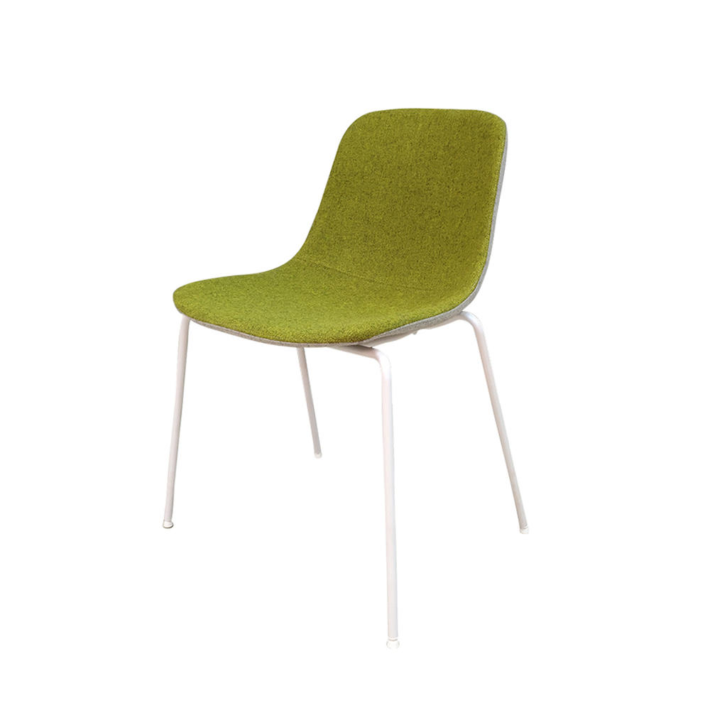 (SP-HC063) High quality 100% wool fabric dining chair for restaurant furniture