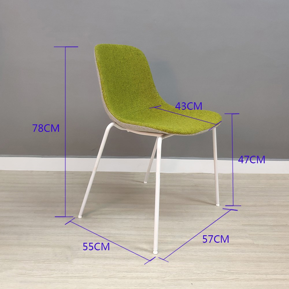 product-SP-HC063 High quality 100 wool fabric dining chair for restaurant furniture-Uptop Furnishing