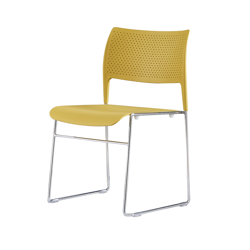 industry-leading stackable plastic chairs steel from manufacturer for hotel-4
