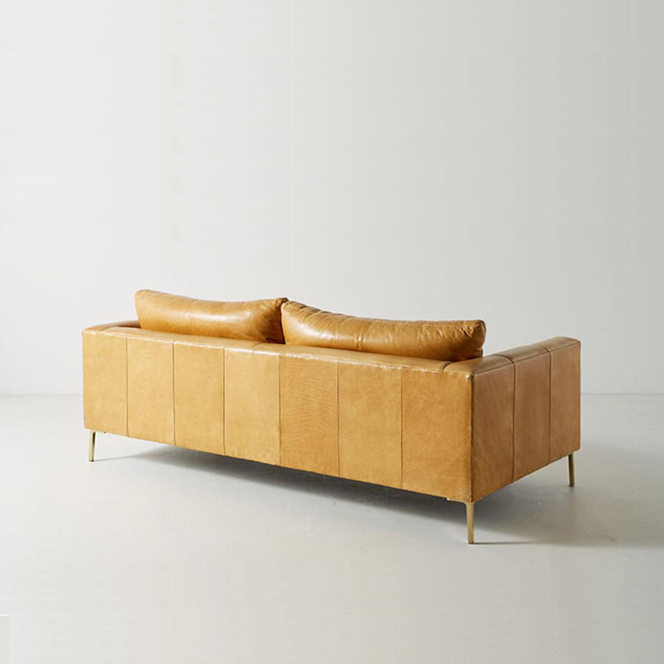 (SP-SF205) Luxury modern leather lounges and sofas furniture