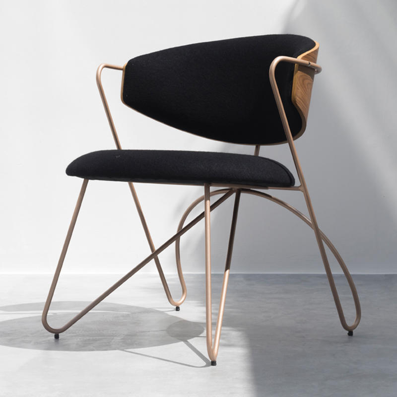 (SP-LC280) Modern wholesale lounge metal furniture cafe chairs