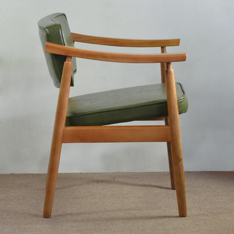 (SP-EC626) Hotel modern scandinavian Wooden frame wood Armchair
