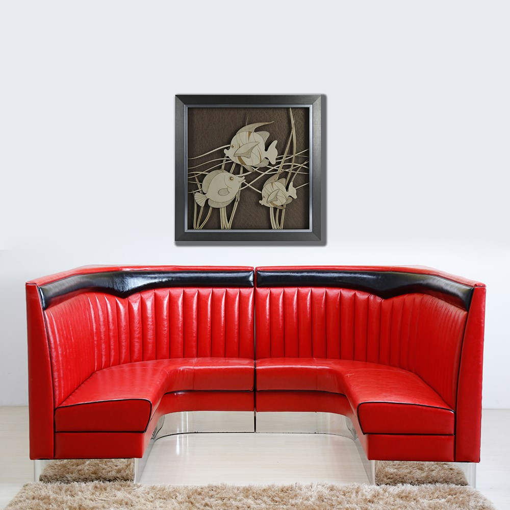 Uptop Furnishings executive mid century modern sofa from manufacturer for bank-5