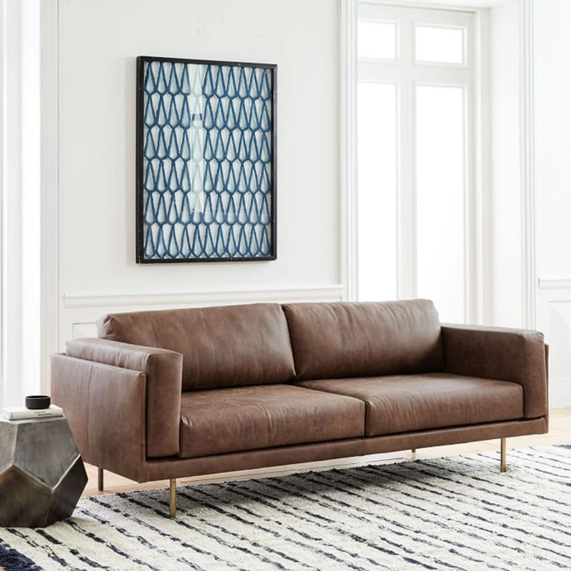 (SP-SF202) New luxury leather elastic sectionals sofas sets for living room