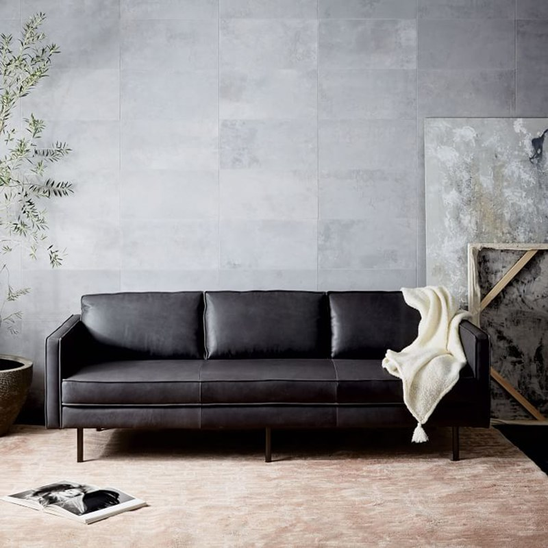product-Uptop Furnishings-Modern luxury sofa furniture leather sectional living room sofa set SP-SF2