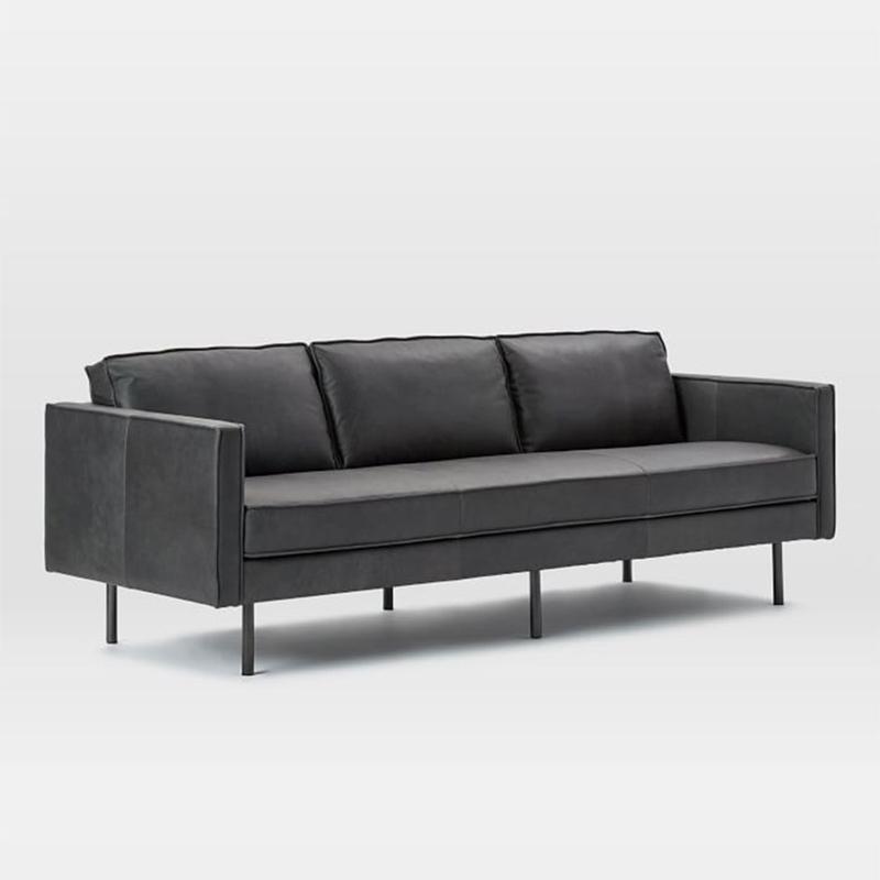 product-Modern luxury sofa furniture leather sectional living room sofa set SP-SF203-Uptop Furnishin