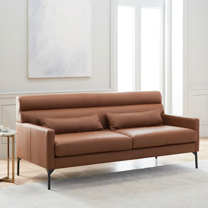 product-Uptop Furnishings-SP-SF207 Modern leather covers elastic stretch office sofa set for office