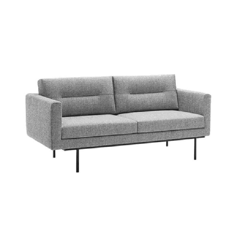 Simple modern Italian living room furniture fabric sofa set designs (SP-KS440)