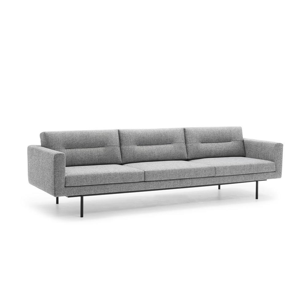 simple modern italian living room furniture fabric sofa