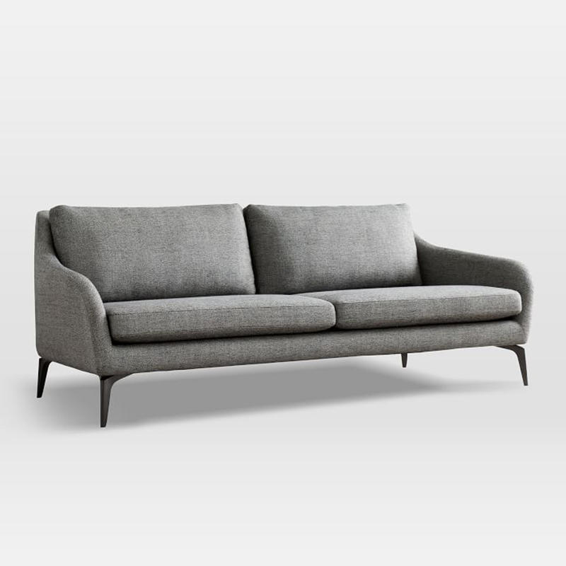 Simple luxury fabric sectionals  loveseats furniture sofa sets (SP-SF212)