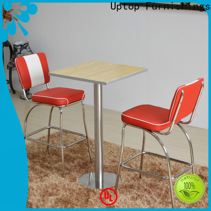 Popular design Bar table &chair set modern at discount for cafe