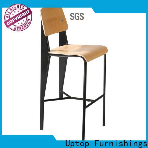Uptop Furnishings Popular design Bar table &chair set bulk production for public