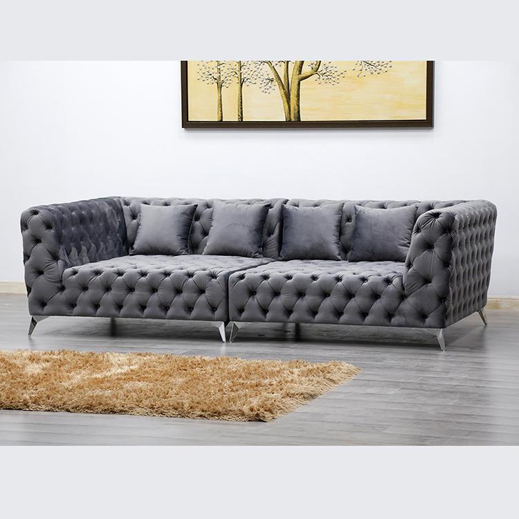 (SP-KS255C) Leisure hotel apartment fabric sofa furniture