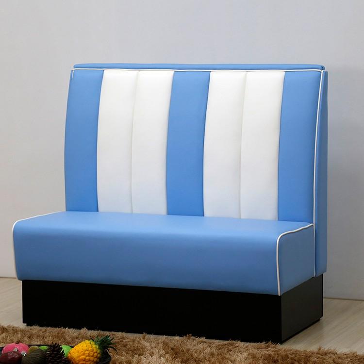 product-SP-KS269 Restaurant furniture blue sofa booth seating-Uptop Furnishings-img