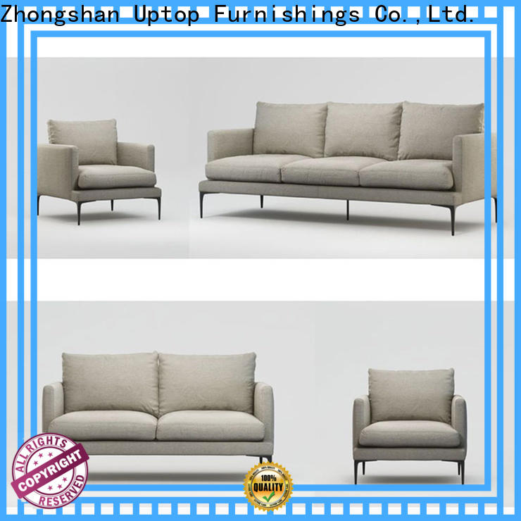 Uptop Furnishings mordern quality sofas China manufacturer for office