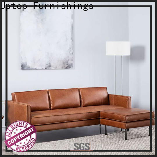 Uptop Furnishings leather waiting room sofa check now for office