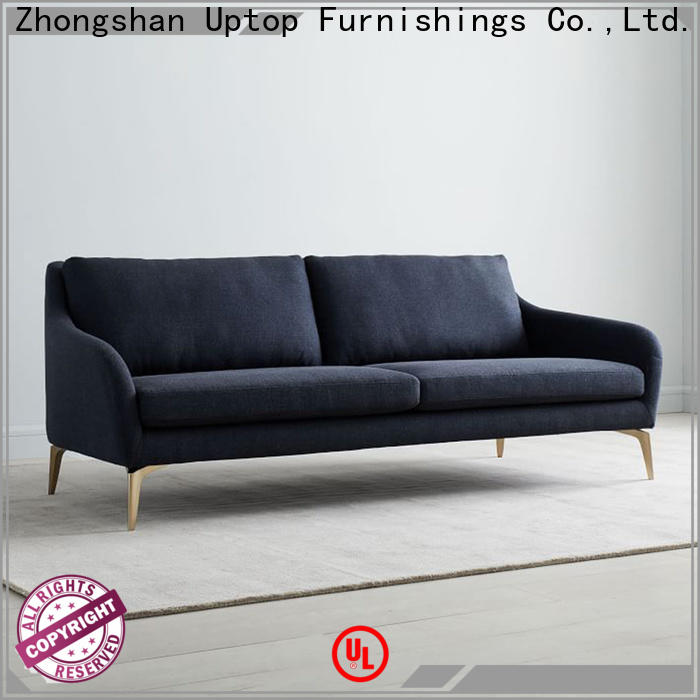 Uptop Furnishings loveseat waiting room sofa China manufacturer for office