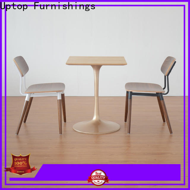 Uptop Furnishings high end industrial restaurant furniture factory price for public