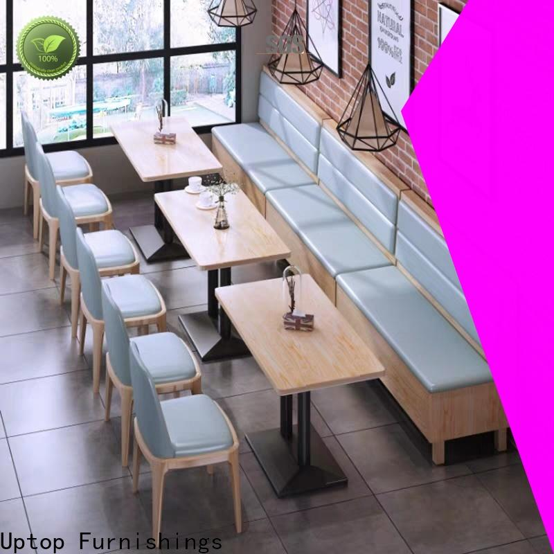 Uptop Furnishings canteen table and chairs free design for restaurant