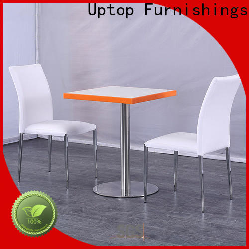 Uptop Furnishings modern cafe table and chairs bulk production for bank