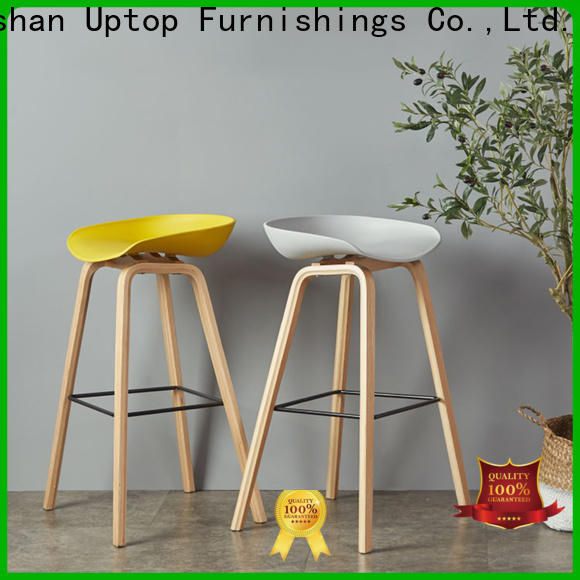 Uptop Furnishings frame plastic dining chairs at discount for public