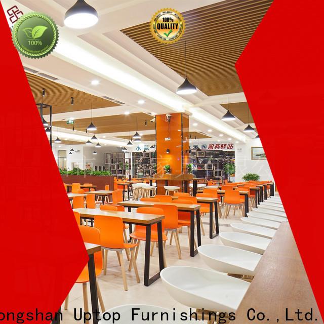 Uptop Furnishings modular industrial restaurant furniture factory price for restaurant