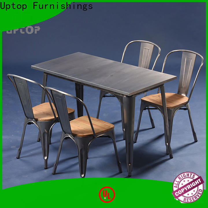 industry-leading canteen table and chairs modern China Factory