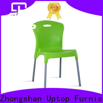 Various style plastic outdoor chairs uptop from manufacturer for hotel
