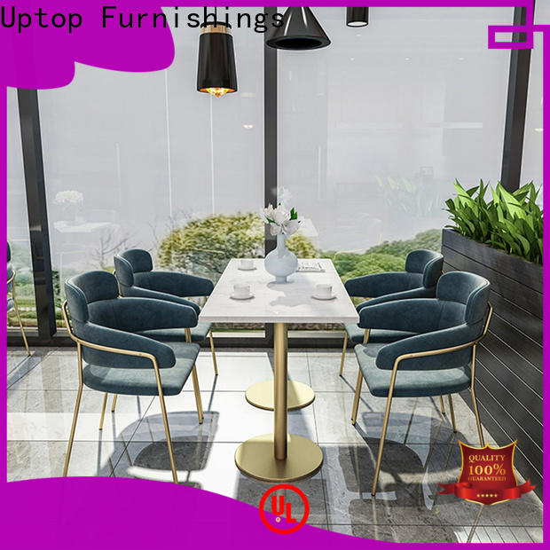Uptop Furnishings new design Bar table &chair set factory price for restaurant