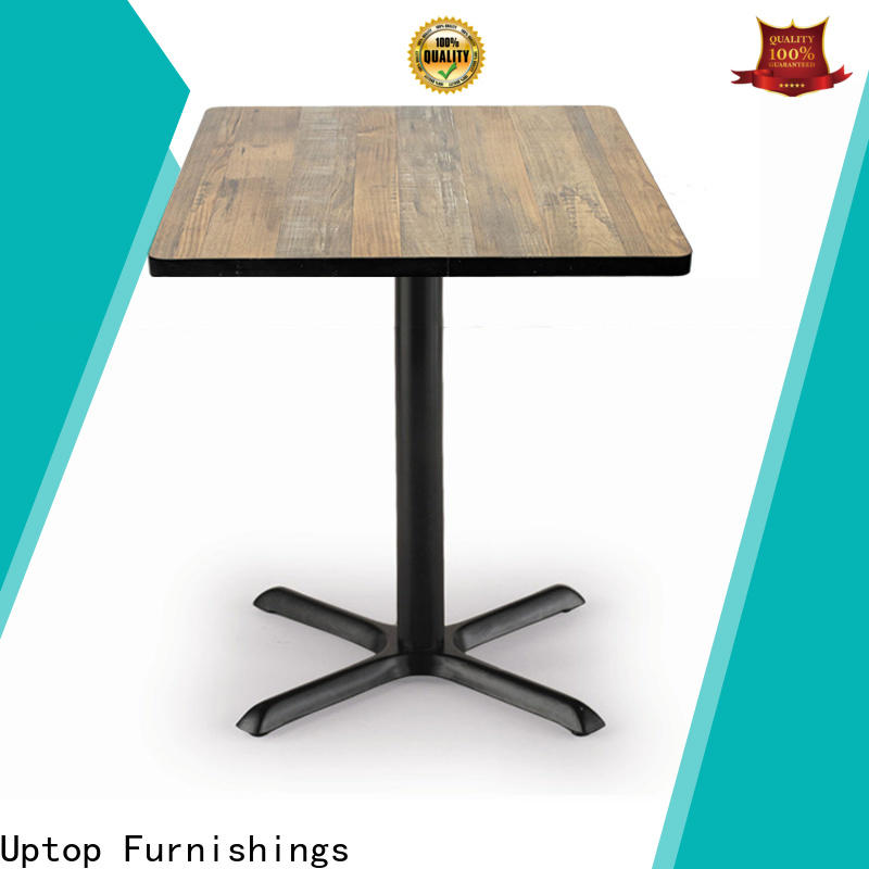Uptop Furnishings edge large round dining table from manufacturer for hospital