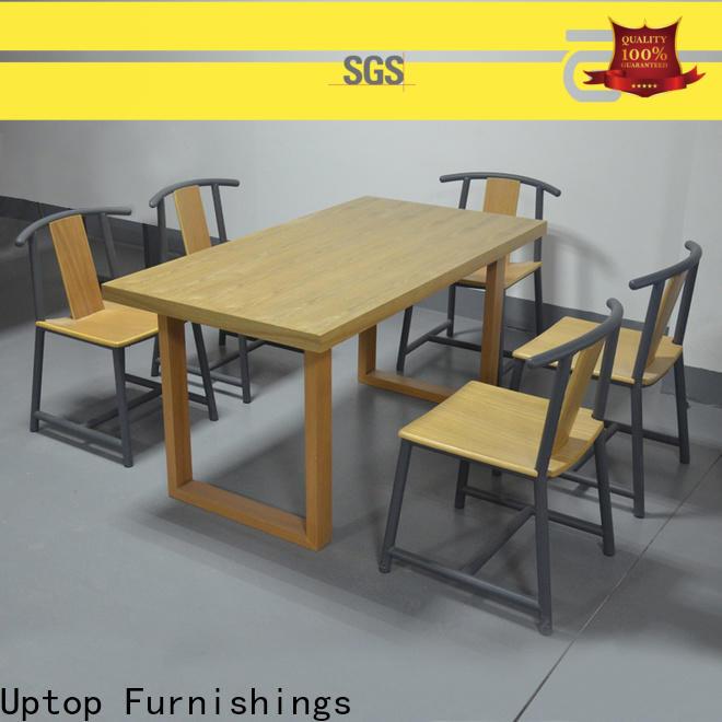 Uptop Furnishings modular aluminum outdoor chair factory price for bar